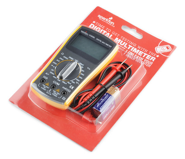 SparkFun is being forced to destroy thousands of multimeters. Because they're yellow. http://t.co/hJUvOach4Y http://t.co/PiV92PMxHz