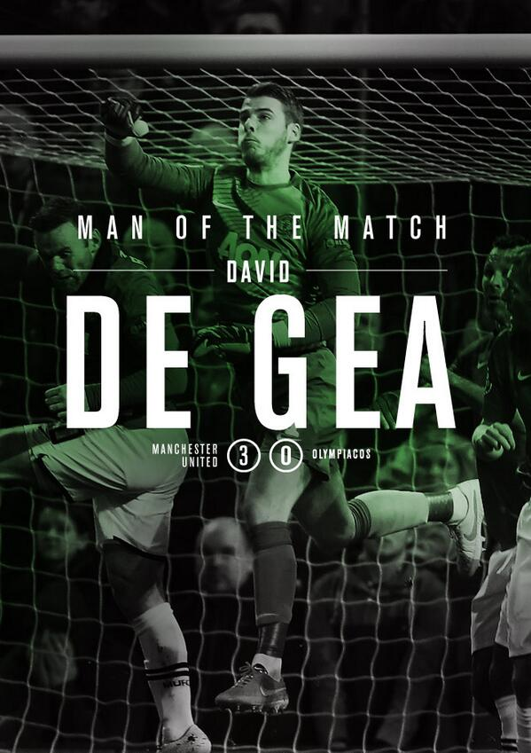 Congratulations to David De Gea (@D_DeGea) on winning our Man of the Match poll with 52 per cent of the votes. #mufc http://t.co/S0YJcthVqK