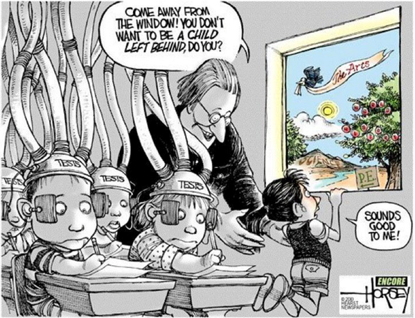 Best. Education Cartoon. Ever. #TESTHearingsNow http://t.co/l1gBvpdC4y