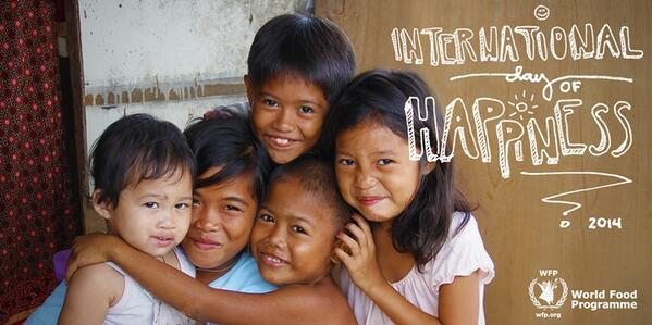 For these kids in Tacloban, nothing could make them happier than family. Happy Int'l Day of Happiness! #HappinessDay http://t.co/CaEmtlhAEC