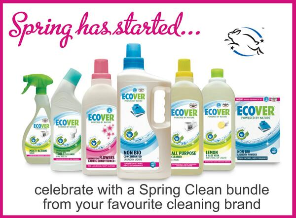 #Spring is officially here and we're celebrating by giving away #SpingClean bundles. #RT to enter and fingers crossed http://t.co/Vn5pEa0hqC
