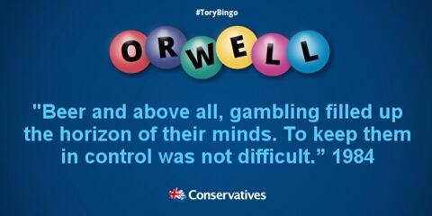 The Tory budget.  @georgegalloway http://t.co/yT58XIx5XQ