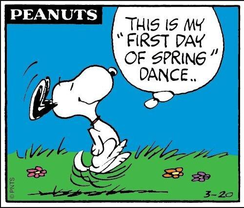 Woo hooo! RT @Debgirl2013: 'Let's do the happy dance!' #spring is in the air! http://t.co/pZEVON3jaN