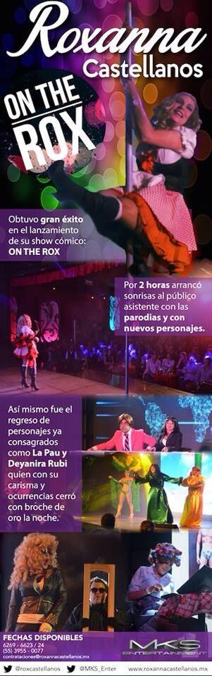 """Espectacular Show de """"Roxanna Castellanos"""" @AlbertoCiurana http://t.co/SBPyr3lOit"""