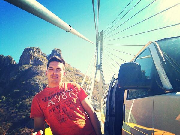 Arturo Vargas Rios (@LosPrimosArturo): Rumbo a mazatlan #puentebaluarte http://t.co/mbil70OqC8