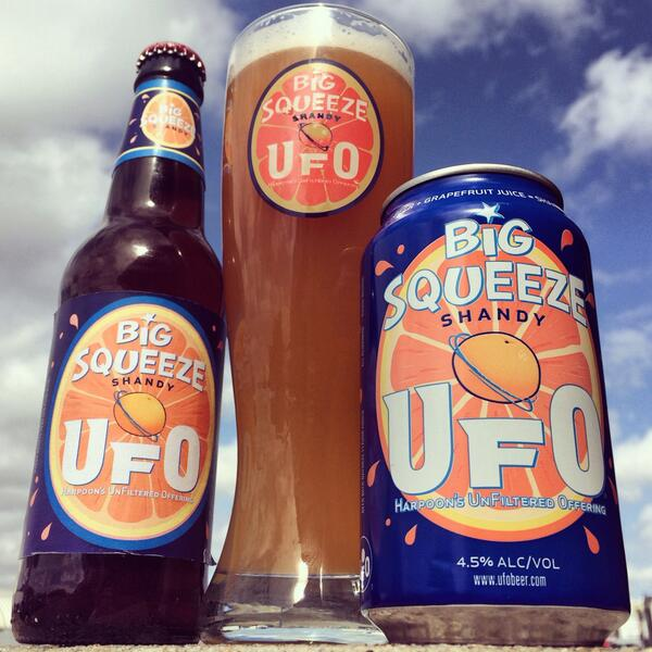 A happy 1st day of spring indeed! Meet our new UFO seasonal #BigSqueeze Shandy! http://t.co/CY4BoSFmzd http://t.co/dsTUx4zO8H