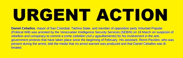 Amnistía Internacional lanza Acción Urgente Mundial por el Alcalde Daniel Ceballos http://t.co/znOn5Bjnla http://t.co/MfwcchtMcc