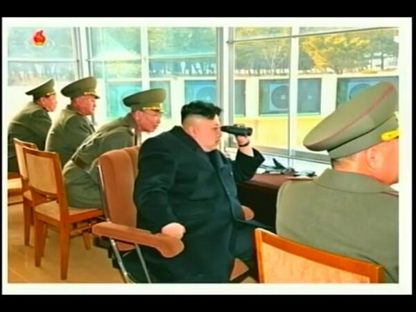 Chips Ahoy! An unflattering still image of Kim Jong-un, released by #DPRK state media. http://t.co/cnLFMAx3ms