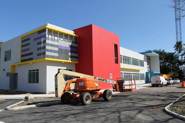 Actualización de la Construcción del #CentroTau // Construction Update of the #TauCenter http://t.co/O0ze9SQqXM