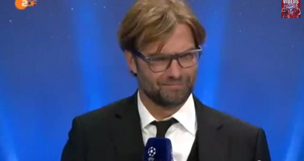 BjMqKAqCYAAtLtU Oliver Kahn and Borussia Dortmund coach Jurgen Klopp go head to head on German TV [Video]