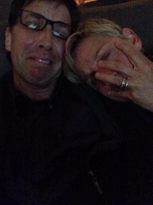Two gay messes.  #scandal Me and @TheEllenShow http://t.co/nnxeCFWviA