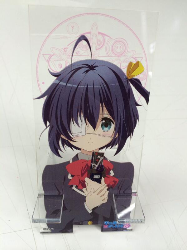 ちなみにアニメジャパングッズの魔力注入スマホスタンドはこちら! #chu2koi