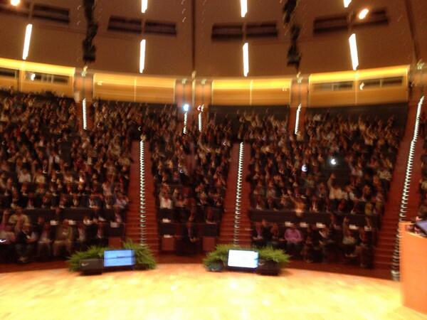 The happy real-time crowd at #bewizard http://t.co/qmpKartZDs