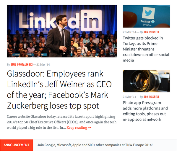 My partner @saddington is enjoying his coffee with a side of @TNW front page for @Pressgram today. Enjoy friend! http://t.co/Ne2WoDstN4