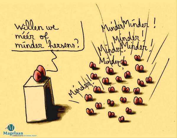 "m'n vrijdagse werkdagprentje: ""@Magelaan: Magelaancartoon 361! http://t.co/kir31WH6t0"""