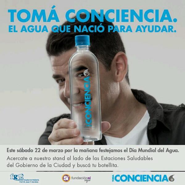 Vení mañana al #Rosedal, buscá tu botella de agua @TomaConciencia_ y disfrutá de las actividades pensadas para vos http://t.co/I4BUxKkyEh