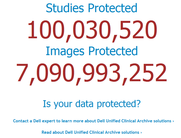 Excited! 100M+ #studies are now managed & secured in @Dell #Cloud Clinical #Archive http://t.co/3PXyS2mEEF #imaging http://t.co/vb8EsIcptf