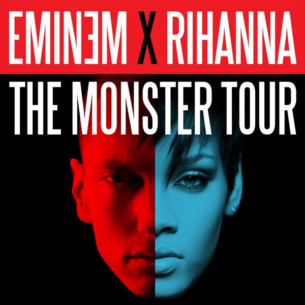 WOW! Rihanna + Eminem add 2nd show in LA Fri 8/8 on #TheMonsterTour! RSVP 4 presale password: http://t.co/048VepBca5 http://t.co/dbEjT4cDVF