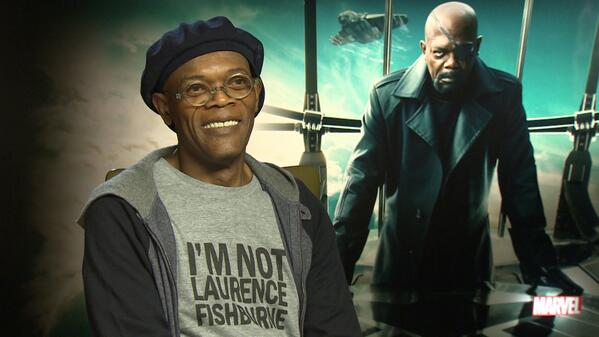 LOL RT @IGNUK During our junket with @SamuelLJackson, he was wearing this t-shirt... #BadMotherF*****r http://t.co/aP42HBndoa