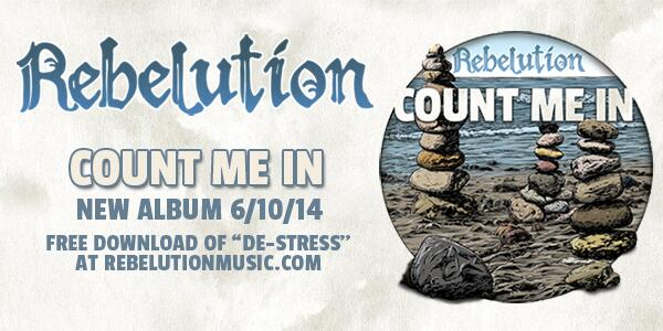 """Our new album, Count Me In, is out on June 10th! Download """"De-Stress"""" FREE at http://t.co/86Dl82prOQ #CountMeIn http://t.co/8gEuvtQTFt"""
