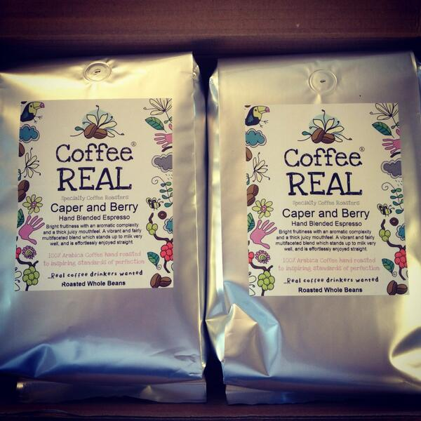 RT @caperandberry: @BrownBean @YAT_Cafe @ChichesterFT @TheRefectory_ our new blend for the cafés http://t.co/9CDaVA2rxB