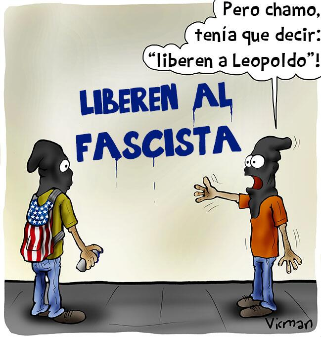 "La caricatura de Vicman ""sinceridad guarimbera"" @albaciudad @ForoChavista @jorgeamorin @LaHojillaMKTV http://t.co/LdJo9jWLeu"