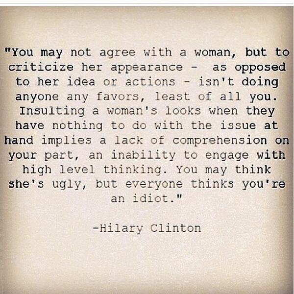"""""""@caramcdermott: @Clonrf @mccarrd2 :) http://t.co/D7ZX3KDjl8"""" well said, Hilary."""