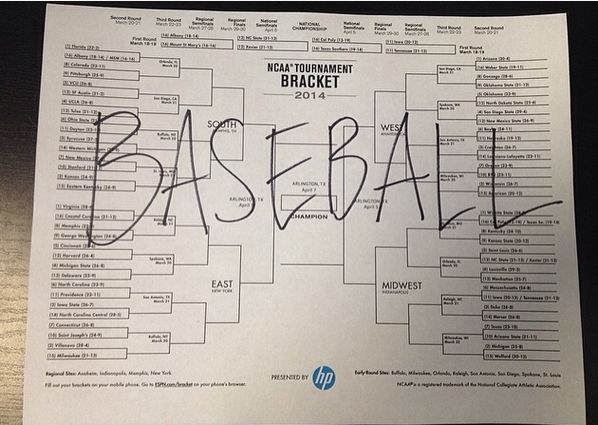 My brackets are looking pretty damn good right now. http://t.co/kmFgQYRxOk