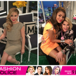 Tune in, East Coast: a brand new episode of #FashionPolice with @Zendaya & @TaraLipinski starts NOW!