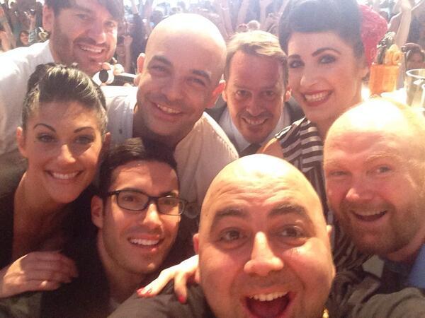 Cute! RT @Duff_Goldman: Oscars selfie @eric_lanlard @dan_lepard @zumbopatisserie @pypbakeshop  @TheEllenShow http://t.co/ixPcPoCJMO