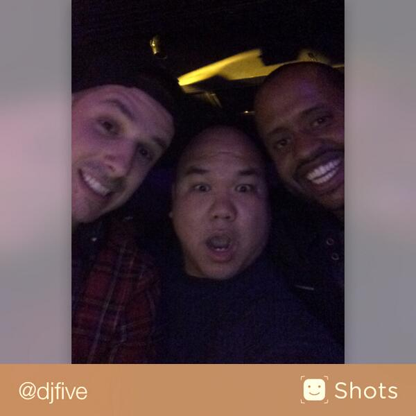 Your Bae (@djfive): Pop that @KennyHamilton @EricDlux #shots http://t.co/WG3tfVqc2j http://t.co/flnXRYn8Nf