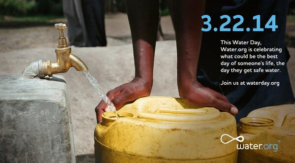 Today is World @Water Day! Join the celebration and give someone in need a #waterday http://t.co/SQvFxUKZ1H http://t.co/4gm0oife6Q