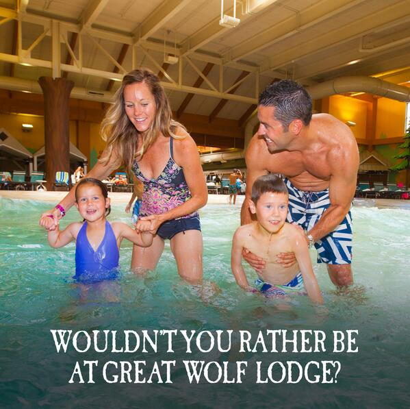 Retweet if you'd rather be at Great Wolf Lodge! http://t.co/3GsXwgIvrI