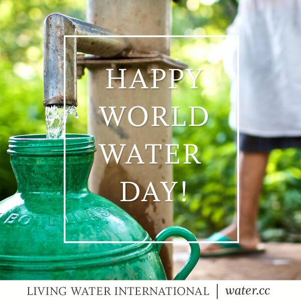 Happy WORLD WATER DAY! Thank you all for your love and support as we continue to serve the thirsty. http://t.co/vCMuVrnHcQ