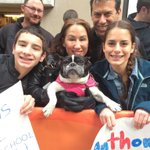 Puppy on the #TODAYPlaza! Send us your Puppy Pics using #TODAYpets to celebrate Puppy Day tomorrow! http://t.co/UYN7HoHAyT
