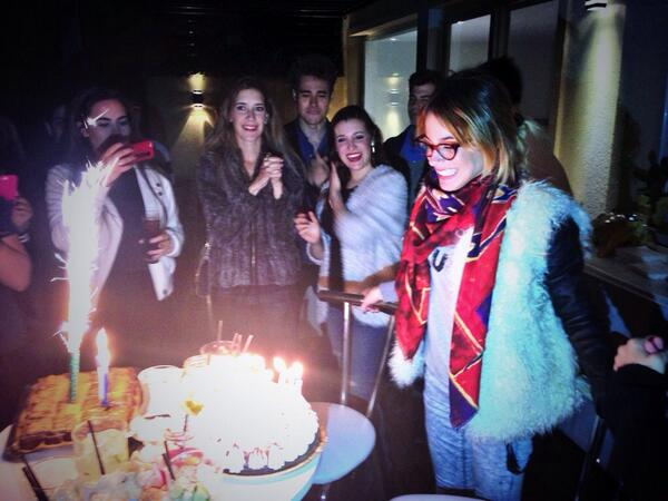 """@ImSergioMejia: @TiniStoessel Great Party!!! Hope u liked the way I danced!  Hahahahahha http://t.co/YOJnKIP4OB"" yyeeeeaahhhhhhh✌️💥🎶"