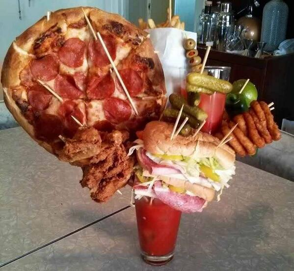 Brooklyn is getting a little out of control with Bloody Mary garnishes http://t.co/WWzApkE5MM
