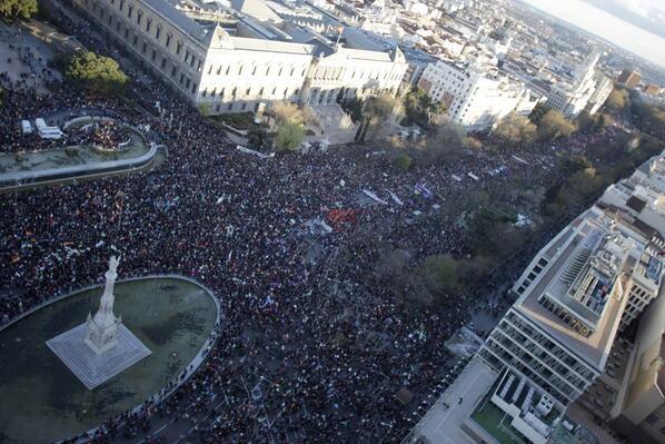 Fotogalería | Las imágenes de las marchas de la dignidad en las calles de Madrid http://t.co/5HY8rLTlgT http://t.co/7tvcAYNdQY