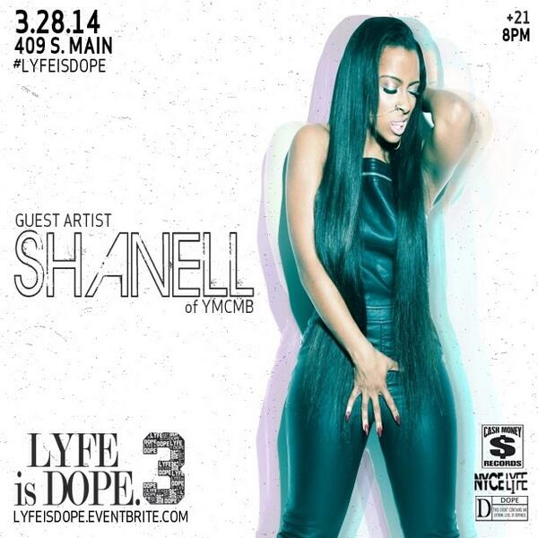 This Friday #YMCMB @shanell_SnL performs live @ 409 South Main ❗Doors open @ 8