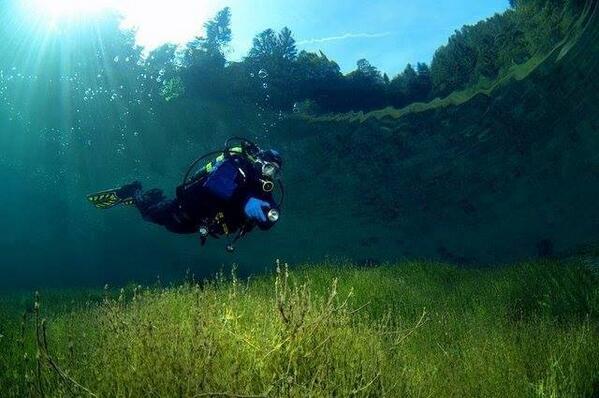 Crystal clear waters of Sameranger Lake, Austria http://t.co/BfCLAkj4TE