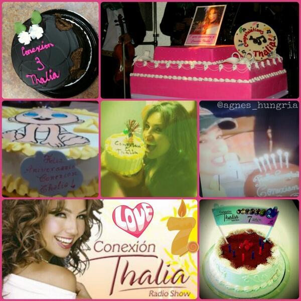 Escuchando Conexión @Thalia por Hola!!:) http://t.co/83XInIc9c0 Feliz 7mo aniversario!!:) @thaliaradio http://t.co/wn5WPxAxlG