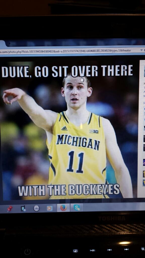 #Hail #GoBlue #Sweet16 http://t.co/pjNls1Om9Z