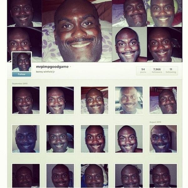 この人のインスタ、すごいや!! @mrpimpgoodgame #selfiechampion http://t.co/yHMlr7e7mg http://t.co/xpHm22zJF9