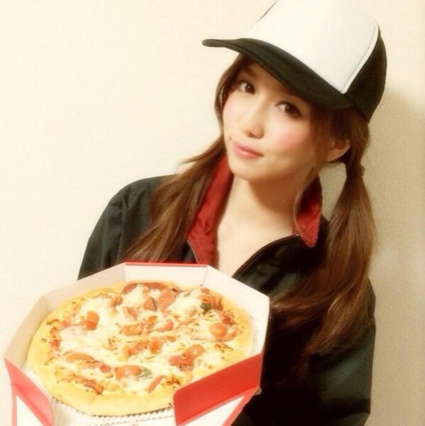 丸高ピザいかがですか〜?byスタッフ http://t.co/cOmaYf6Np3