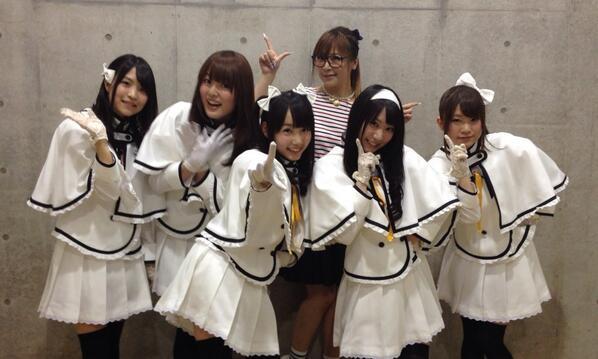 【AJありがとうございました!】ダンス師匠の榊原ゆいさんと一枚★アニメ情報ともども、これからの続報にご期待ください!#b