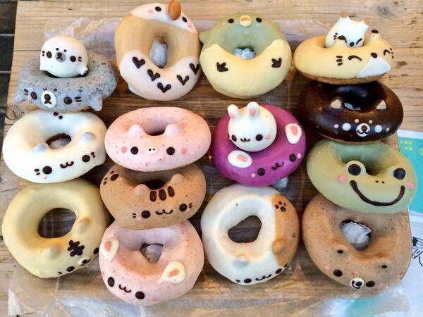 Необычные японские пончики: nihon81