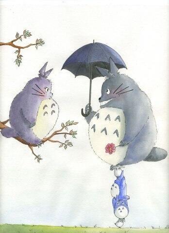 【となりのトトロ】 トトロ♂とトトロ♀♡