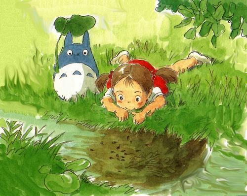 【となりのトトロ】メイちゃんと中トトロと「おじゃまたくしー!!」♪