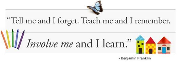 """RT @SABasicEdConf: """"Tell me and I forget, teach me and I remember, involve me and I learn."""" Benjamin Franklin #SABEC http://t.co/VHO1z7Zr58"""