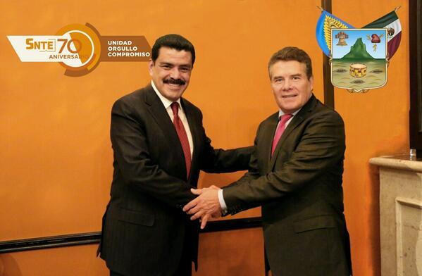 #Comunicado Gobernador @Paco_Olvera y #SNTE unen esfuerzos por educación  http://t.co/coGihCN4D8 @SocialHidalgo http://t.co/XOOwYnTrW2